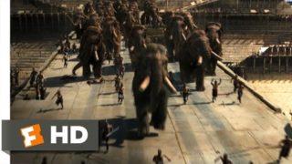 10,000 BC (8/10) Movie CLIP – Mammoth Stampede (2008) HD