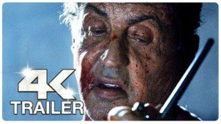 RAMBO 5 LAST BLOOD : 3 Minute Trailers (4K ULTRA HD) NEW 2019