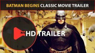 Batman Begins Trailer (2005) Classic Movie Trailers (HD) Christian Bale