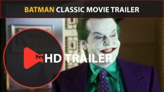 Batman Trailer (1989) Classic Movie Trailers (HD) Jack Nicholson