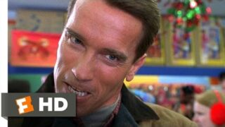 Jingle All the Way (1/5) Movie CLIP – Looking for Turbo Man (1996) HD