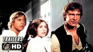 All STAR WARS Original Trilogy Classic Trailers (1977 – 1982)