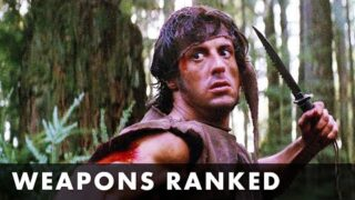 RAMBO – Weapons Ranked – Starring Sylvester Stallone