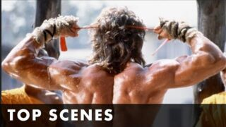 TOP SCENES FROM RAMBO III – Starring Sylvester Stallone