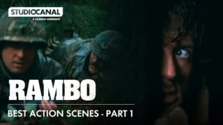 Sylvester Stallone in the Best Action Scenes from THE RAMBO TRILOGY | Part 1