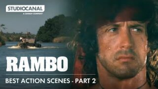 Sylvester Stallone in the Best Action Scenes from THE RAMBO TRILOGY | Part 2
